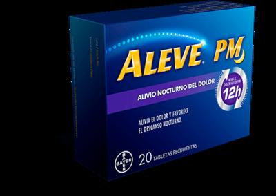 Aleve Pm Alivio Nocturno 12 H Caja 20 Tabletas