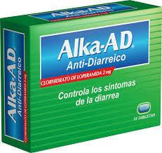 Alka-Seltzer Ad Anti-Diarreico Caja 12 Tabletas