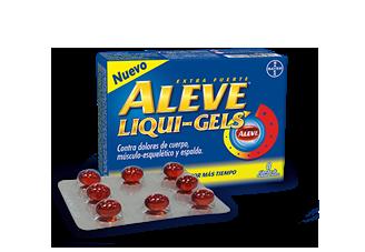 Aleve Liqui-Gels  Caja 8 Tabletas De Gelatina
