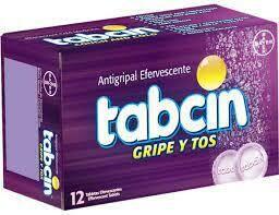 Tabcin Antigripal Gripe Y Tos Caja 12 Capsulas Efervecentes