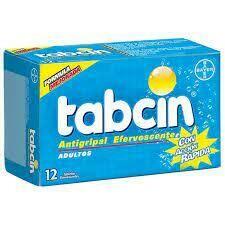 Tabcin Antigripal Efervecente Adulto Caja 12 Tabletas