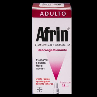 Afrin Adulto Descongestionantes Solucion Nasal Frasco 15Ml