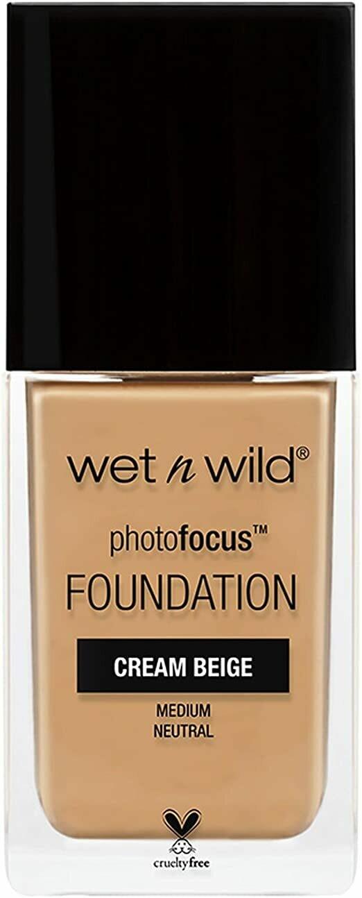 Base Facial Wet n Wild Photofocus Cream Beige