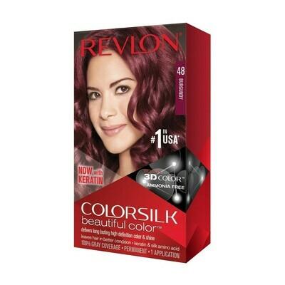 Tinte de Pelo Revlon Colorsilk Borgona 48