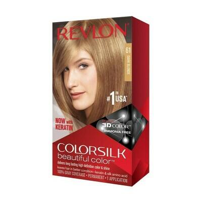 Tinte de Pelo Revlon Colorsilk Rubio Oscuro 61
