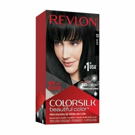 Tinte de Pelo Revlon Colorsilk Negro 10