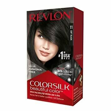 Tinte de Pelo Revlon Colorsilk Negro Suave 11