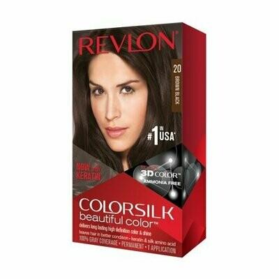 Tinte de Pelo Revlon Colorsilk Negro Natural 20