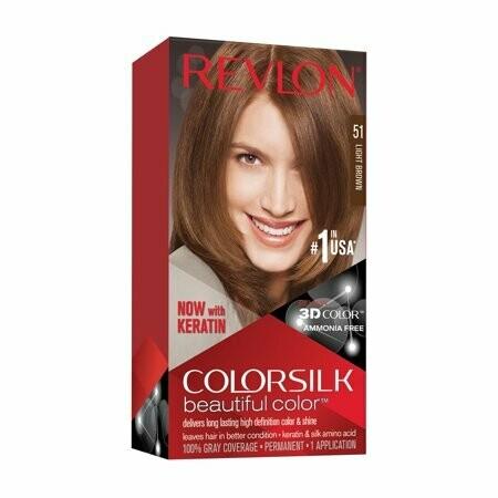 Tinte de Pelo Revlon Colorsilk Castaño Claro 51