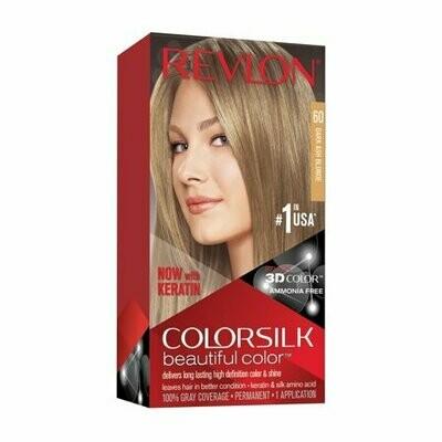 Tinte de Pelo Revlon Colorsilk Rubio Oscuro Cenizo 60
