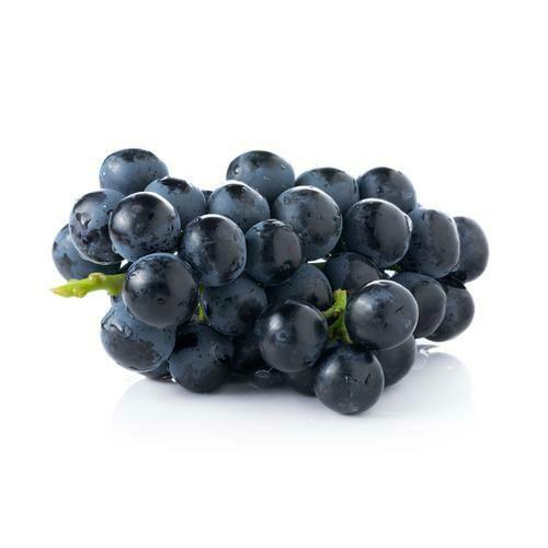 Uva Negra sin  Semilla Bandeja 2 lbs