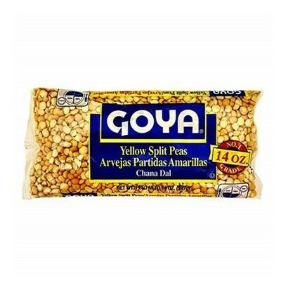 Arvejas (Chicharos) Goya Partidas Amarillas 14 oz