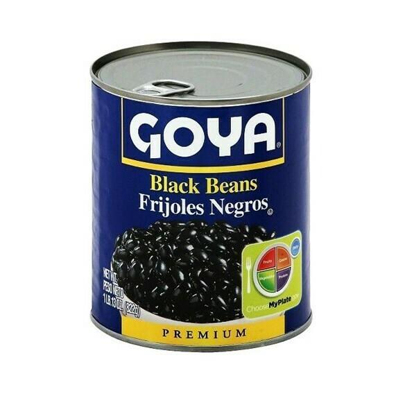 Frijoles Negros Goya 822gr (29oz)