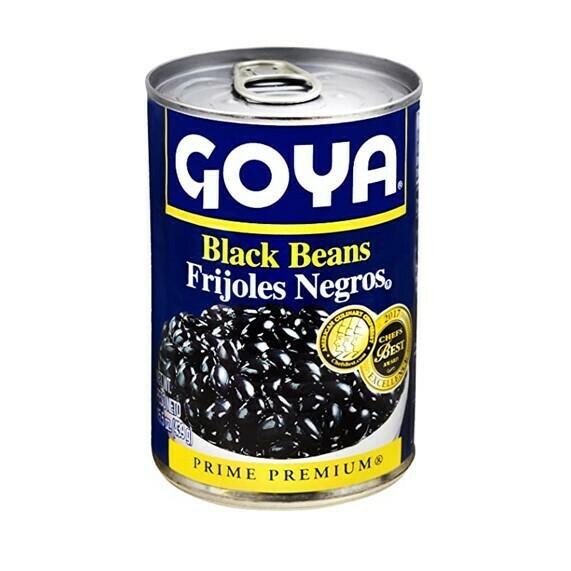 Frijoles Negros Goya 439gr (15oz)
