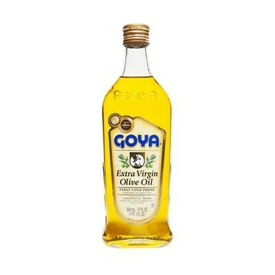 Aceite de Oliva Goya Extra Virgen 500ml (17oz)