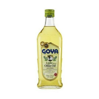 Aceite de Oliva Goya Light 500ml (17oz)