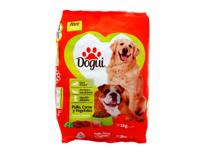 Dogui Pollo, Carne Y Vegetales 2Kg