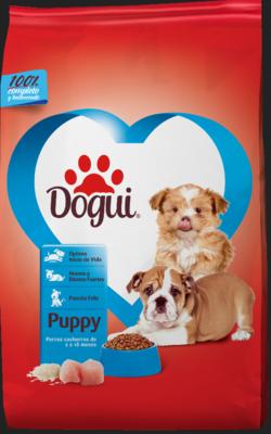 Promoción Dogui Cachorro 9Kg + Accesorio Gratis