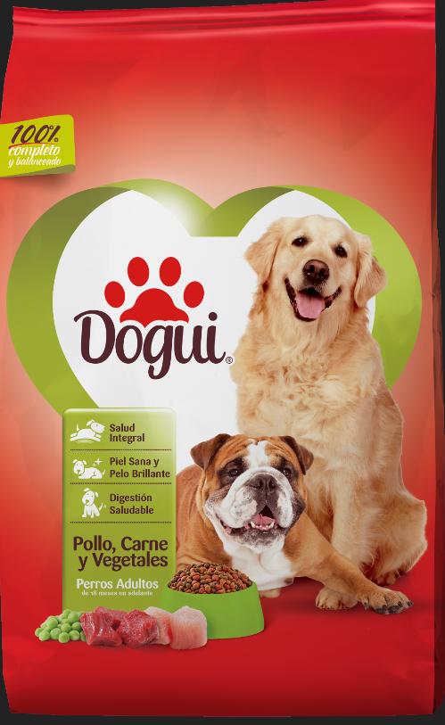 Dogui Pollo, Carne Y Vegetales 4Kg