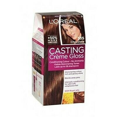 Coloracion en Crema Loreal Casting Creme Gloss Chocolate 535