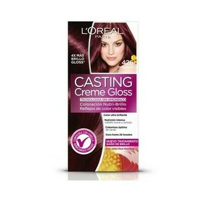 Coloracion en Crema Loreal Casting Creme Gloss Borgoña 426