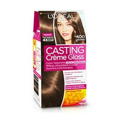 Coloracion en Crema Loreal Casting Creme Gloss Castaño 400