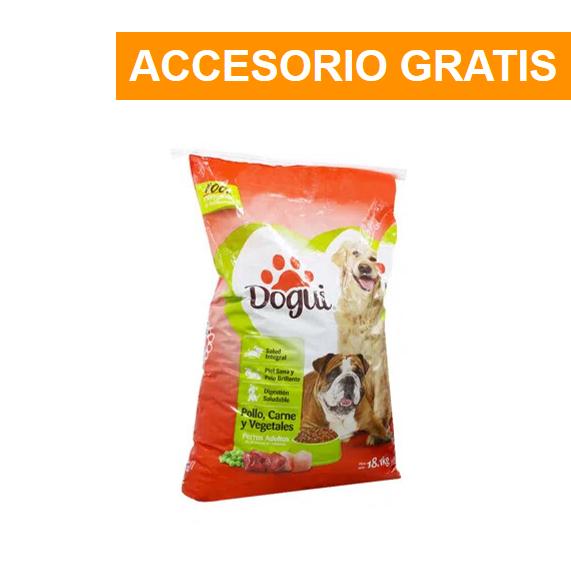 Promoción Dogui Pollo, Carne Y Vegetales 18.1Kg + Accesorio Gratis