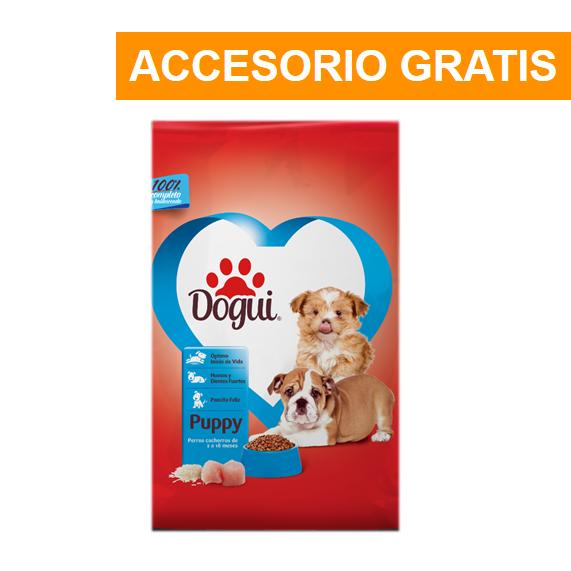 Promoción Dogui Cachorro 2Kg + Accesorio Gratis