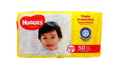Pañales Huggies Classic 50 unidades XXG5