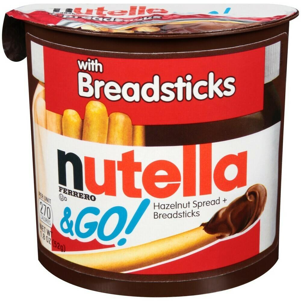 Nutella Ferrero & Go w/ Breadsticks 52gr