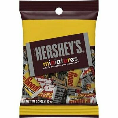 Hersheys Miniatures Chocolate Candy 150gr