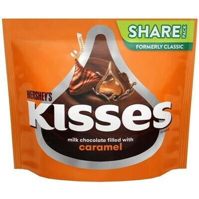 Hersheys Kisses Caramel 286gr