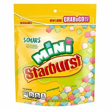 Starbust Mini Sours 226gr