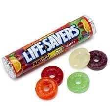 Life Savers 5 Flavors Hard Candy 32gr