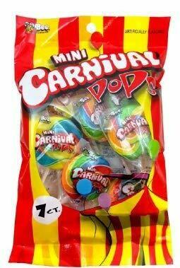 Mini Carnival Pops 82gr