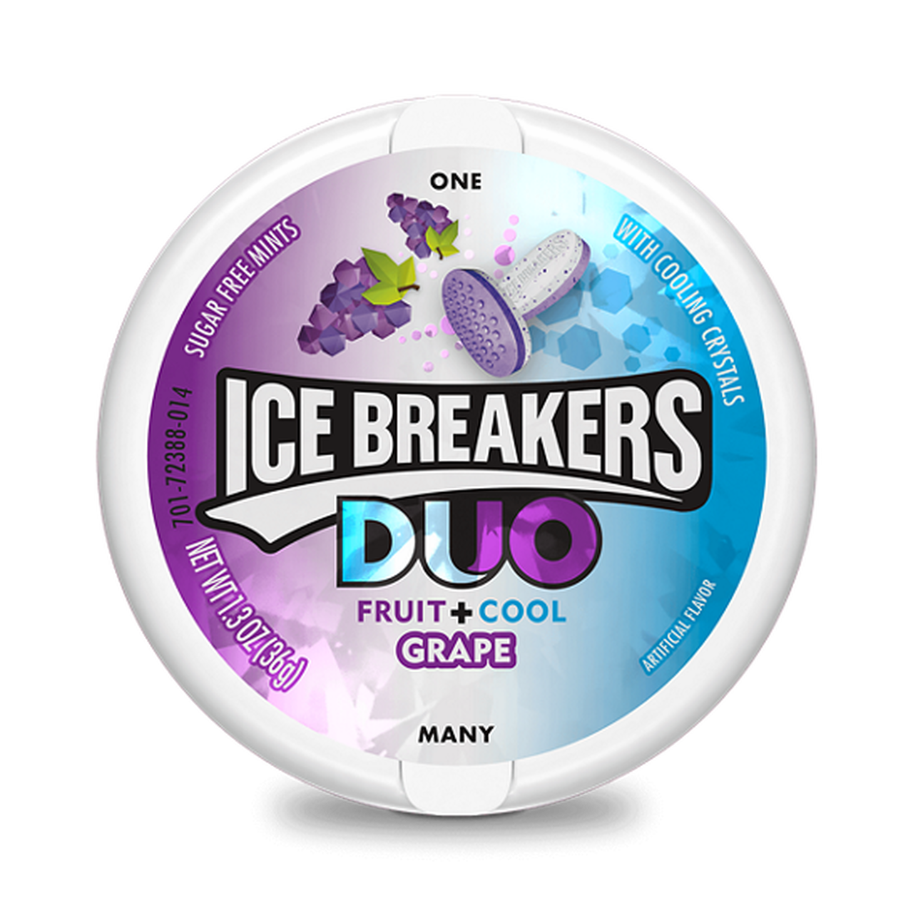 Ice Breakers Duo Fruit + Cool Grape 36gr