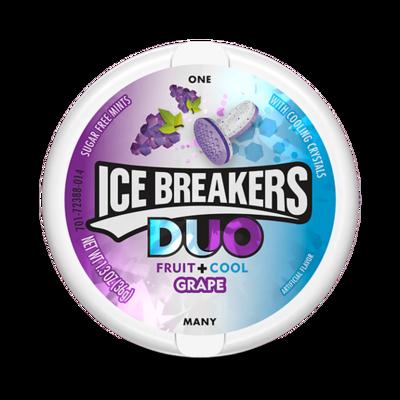 Ice Breakers Duo Fruit + Cool Grape 36gr