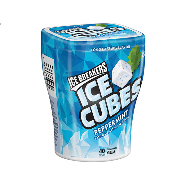 Ice Breakers  Ice Cubes Peppermint Many