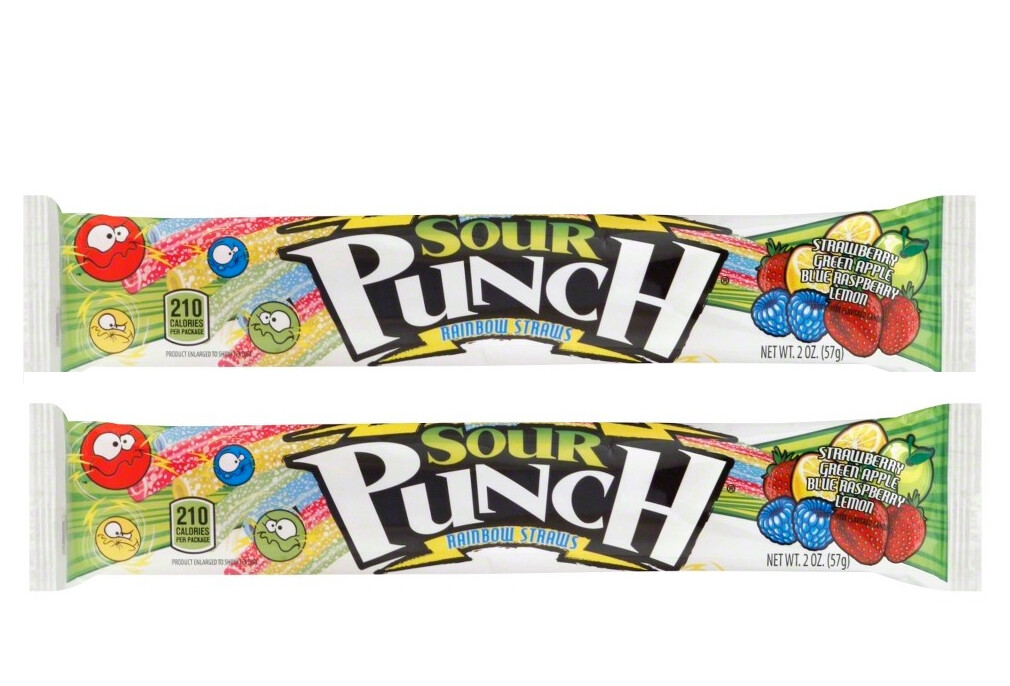 Sour Punch Rainbow 57gr  2Pack