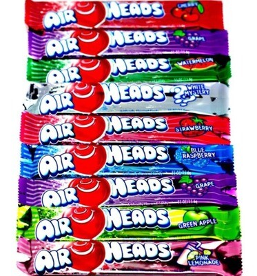 Airheads Candy Barritas Surtidas 15gr  10Pack