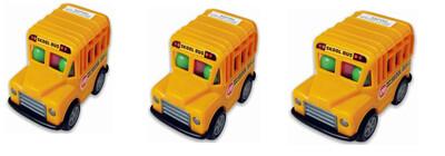 Kids Skool Bus Candy Filled Bus 15gr  3Pack