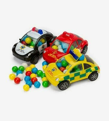 Kidsmania Rescuel Filled Cars 5.4gr  3Pack