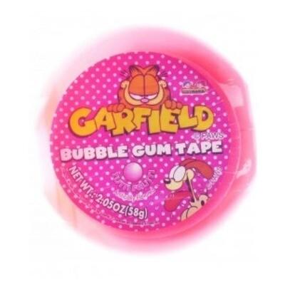 Kidsmania Garfield Bubble Gum Strawberry 58gt