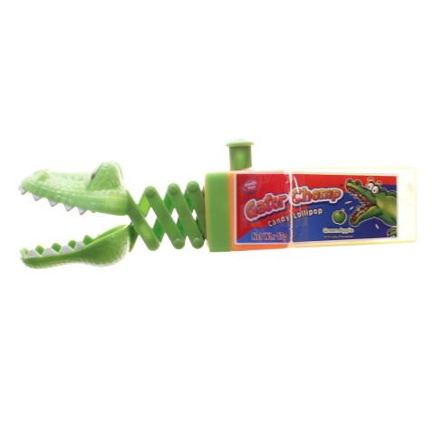 Kids Gator Chomp Candy Lollipop 17gr