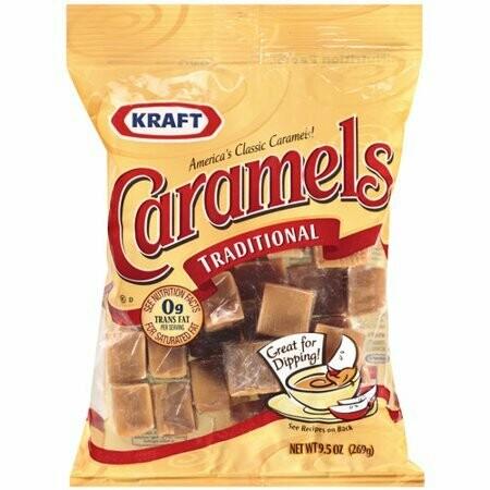 Caramelo Kraft Tradicional 269gr