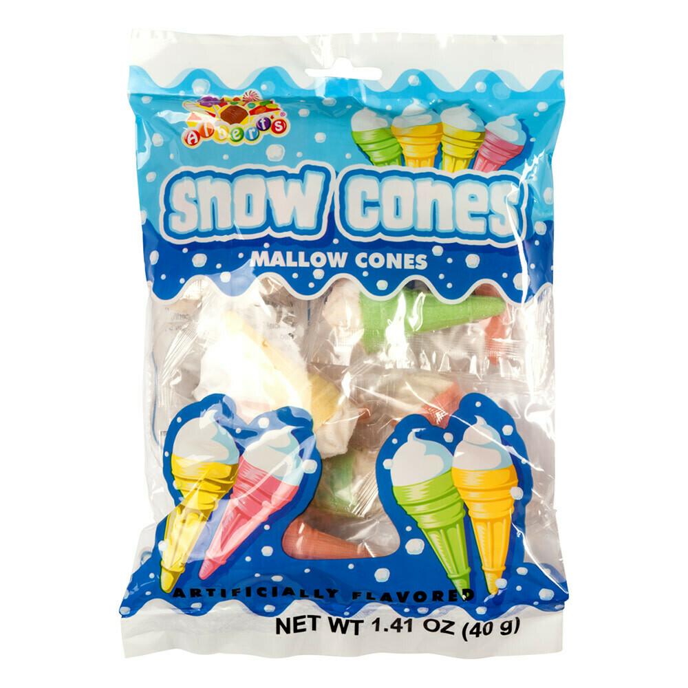 Snow Cones Mallow Cones 40gr