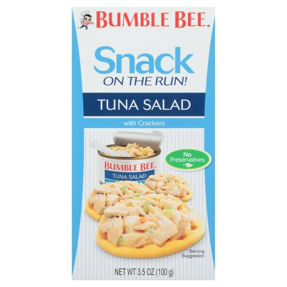 Snack de Atun con Galleta Bumble Bee On The Run Tuna Salad Kit 100gr