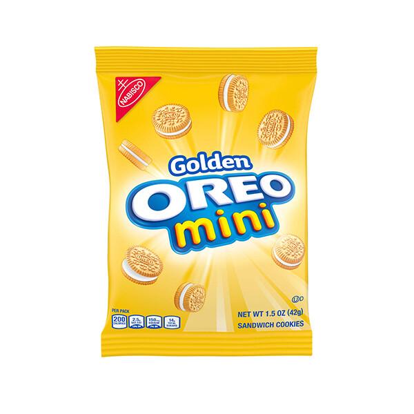 Galletas Mini Oreo Golden 42gr
