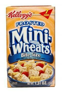 Kelloggs Frosted Mini Wheats 37gr  3Pack