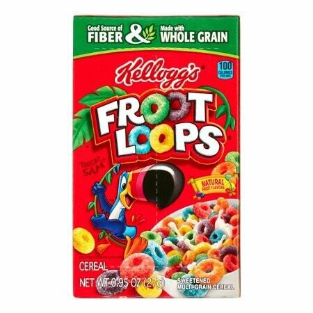 Kelloggs Froot Loops 27gr  3Pack